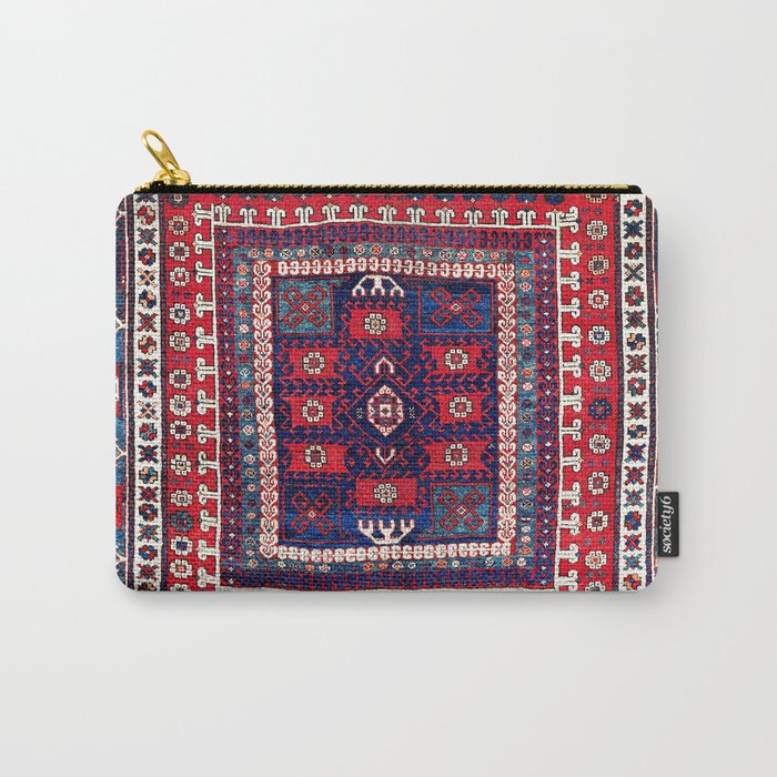 Karakecili Bergama Northwest Anatolian Rug Print Carry-All Pouch