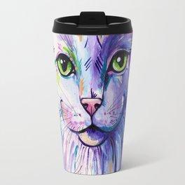 Not so white cat Travel Mug