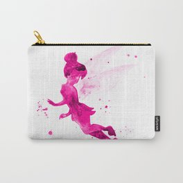 Tinker Bell, pink Carry-All Pouch