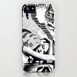 Bunny Blacktie Ball iPhone Case