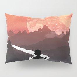 Let your fears run down the creek. Pillow Sham