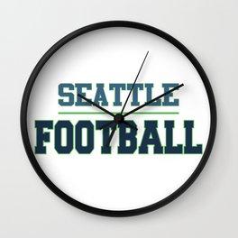 Football In The Sea Wall Clock