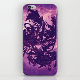 Arty Abstract Purple iPhone Skin