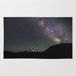 Summer Stars at Lost Lake - Nature Photography Rug