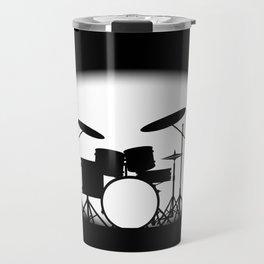 Half Tone Rock Band Poster Travel Mug