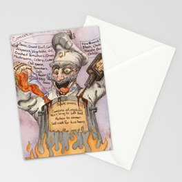 Concoction Chili (The Mad Chef) Stationery Cards