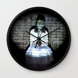 I let my brother go to the devil in his own way Wall Clock