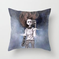 loneliness & my near-complete life Throw Pillow