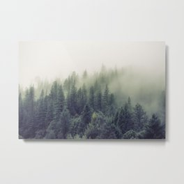 Winter forest trees #7 Metal Print