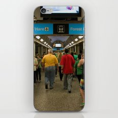 Chicago Blueline 1 iPhone & iPod Skin