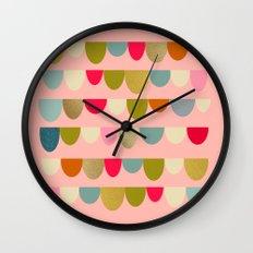 Delightful Rue II Wall Clock