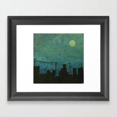Moon Lit  Framed Art Print