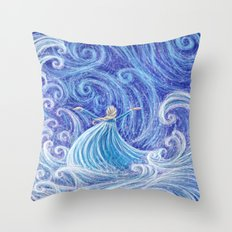 .:Let the Storm Rage On:. Throw Pillow
