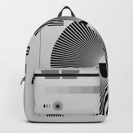 Testchart / gray Backpack