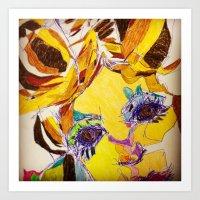 'Fragmented 6' Art Print