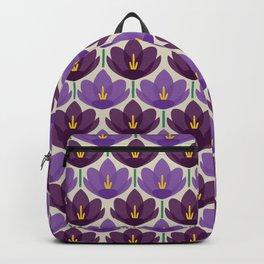 Crocus Flower Backpack
