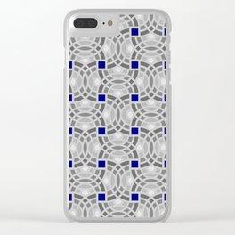 Op Art 118 Clear iPhone Case