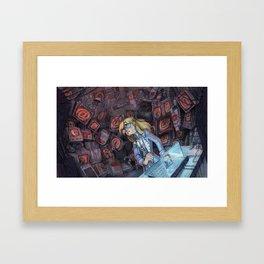 Code Romantic: Mina Poster Framed Art Print