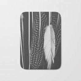 Boho Feathers Bath Mat