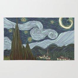 starry night Rug