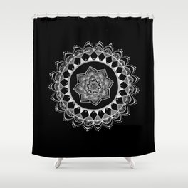 The Introvert Shower Curtain