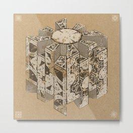 Hellraiser Puzzlebox C Metal Print