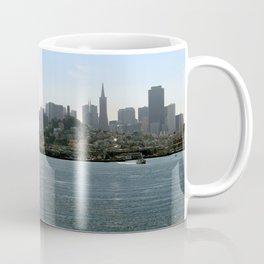 Downtown San Francisco from the Bay Coffee Mug