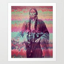 The Last Comanche Art Print