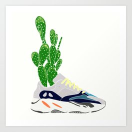 EEZY WAY TO GROW A CACTUS Art Print