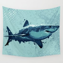 Guppy | Great White Shark Wall Tapestry