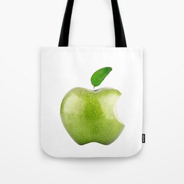 Fresh Green Apple! Beloved Apple! Tote Bag