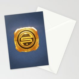 Golden S 3D Emblem Stationery Cards