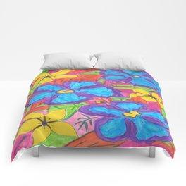 Tropical Rainbow Garden Comforters