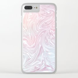 Holographic Silk I. Clear iPhone Case