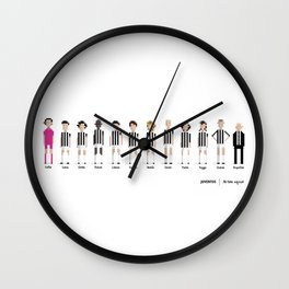 Juventus - All-time squad Wall Clock