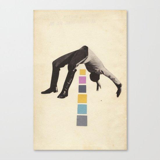 High Jump Canvas Print