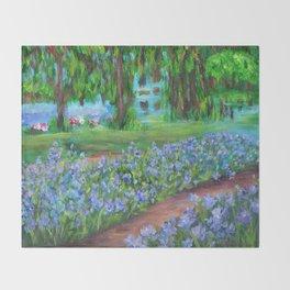 Monet's Garden AC20110715a Throw Blanket
