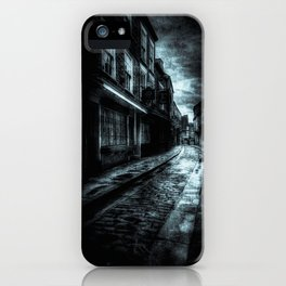 York Shambles Ghosts iPhone Case