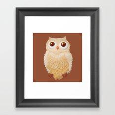 Owlmond 1 Framed Art Print