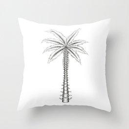 Spinal Palm Throw Pillow