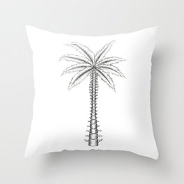 Spinal Palm Throw Pillow