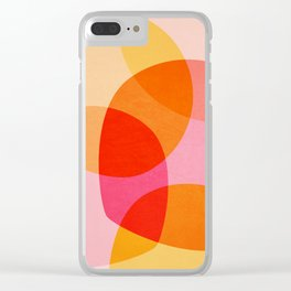 Summer Vibe Clear iPhone Case