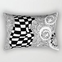 Star Swirls Rectangular Pillow