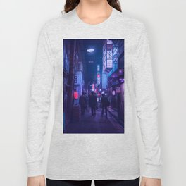 Tokyo Nights / One Minute To Midnight / Liam Wong Long Sleeve T-shirt