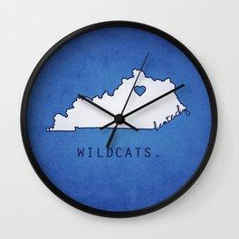Kentucky Wildcats Wall Clock