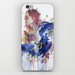 Bouquet of Emotions iPhone Skin