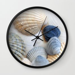 Just Sea Shells Wall Clock