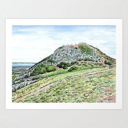 Arthur's Seat, Edinburgh Art Print