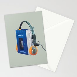 Sony Walkman TPS-L2 with MDR-5A Headphone Polygon Art Stationery Cards