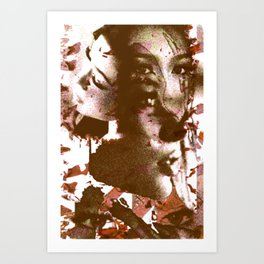 Thai Girl Art Print